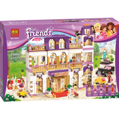 Конструктор Bela Friends Гранд отель 10547 - аналог Лего 41101