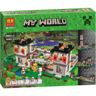 Конструктор Bela Minecraft крепость 4 в одном 10472