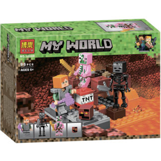 Bela 10808 бой в подземелье конструктор Minecraft