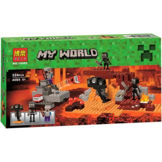 Bela 10469 конструктор иссушитель Minecraft
