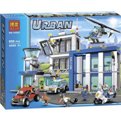 Bela 10424 конструктор серии Urban (Cities) - полицейский участок