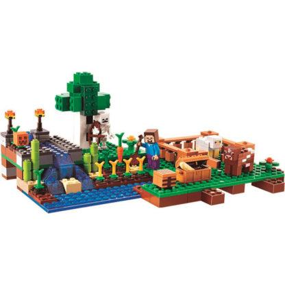 Bela 10175 конструктор Minecraft ферма