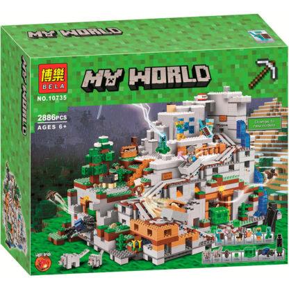 Bela Горная Пещера 10735 конструктор серии Minecraft (My World)