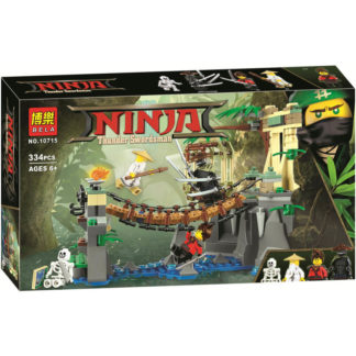 Конструктор Bela Ninja 10715 Битва Гармадона и Мастера Ву