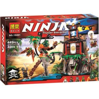 Конструктор Bela Ninja 10461 Тигровый остров вдов