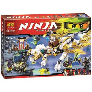 Конструктор BELA Ninja 10397 Дракон Сэнсэя Ву
