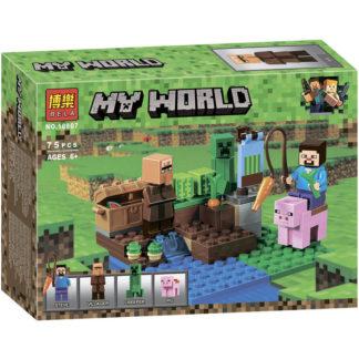 BELA арбузная ферма 10807 - серия MINECRAFT