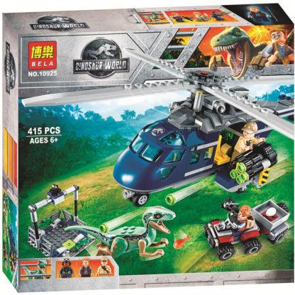 Конструктор Bela 10925 Погоня за Блю на вертолете