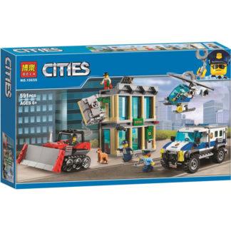 Конструктор BELA 10659 ограбление на бульдозере - серия CITIES