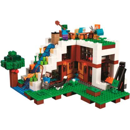 Конструктор BELA 10624 База на водопаде - серия Minecraft