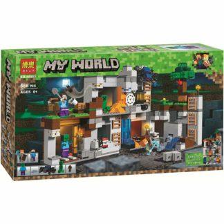 BELA 10990 приключения в шахтах Майнкрафт